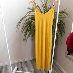 Yellow Maxi Sun Dress